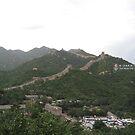 Great Wall at Badaling, China by Chris  Gisclair