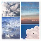 Cloudscapes Collage by JennyRainbow