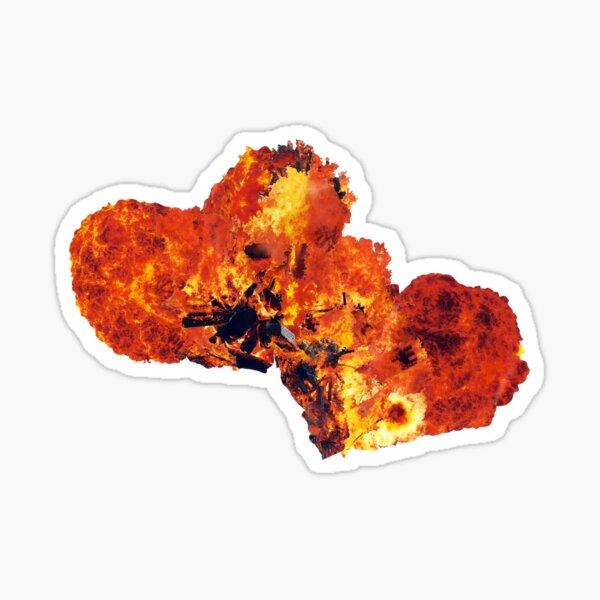 Hearts (Fire) Sticker