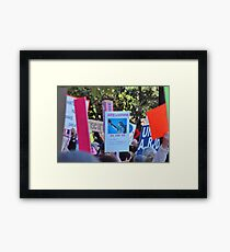 The Women's March Framed Print
