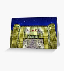 Art Deco Plaza Port Talbot - An Old Touch of Class Greeting Card