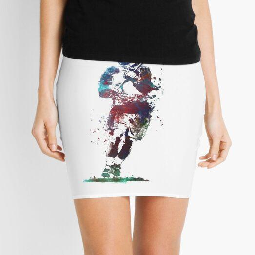 Lacrosse player art 2 #sport #lacrosse Mini Skirt