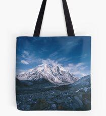 Bhagirathi Parbat from the Gangotri Glacier Tote Bag