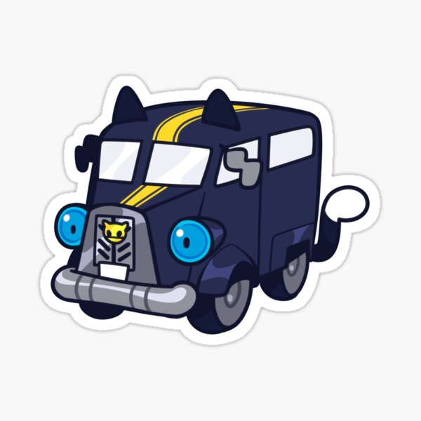 Morgana Bus sticker Sticker