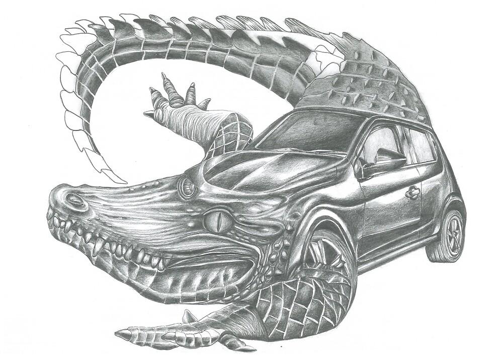 Mini Croc by almart