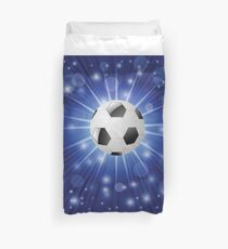 soccer ball Duvet Cover