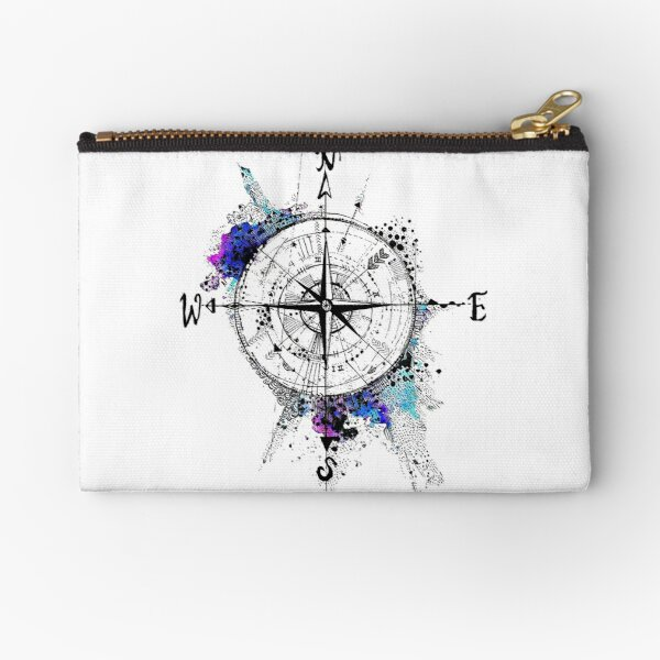 Not all those who wander are lost Zipper Pouch