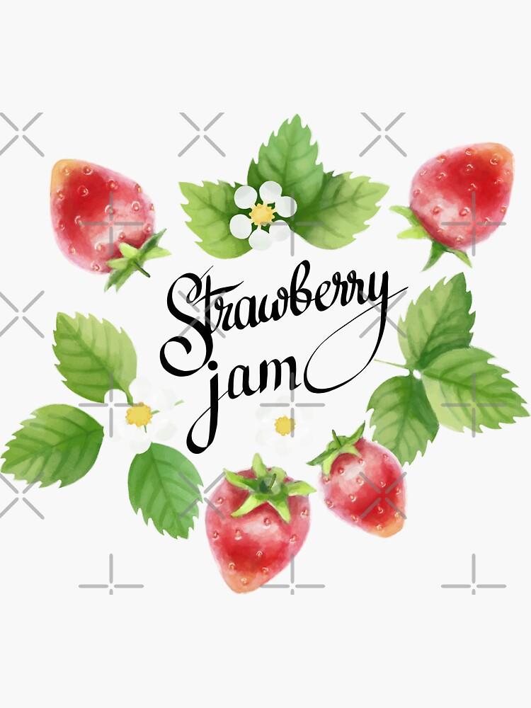 Strawberry jam by Elenanaylor