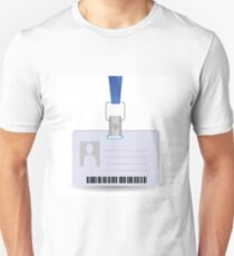 name tag holder T-Shirt