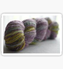 Handspun yarn Sticker
