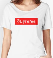 Supreme bogo Women's Relaxed Fit T-Shirt