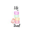 Life is sweet by Marjolein Schattevoet