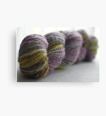Handspun yarn Canvas Print
