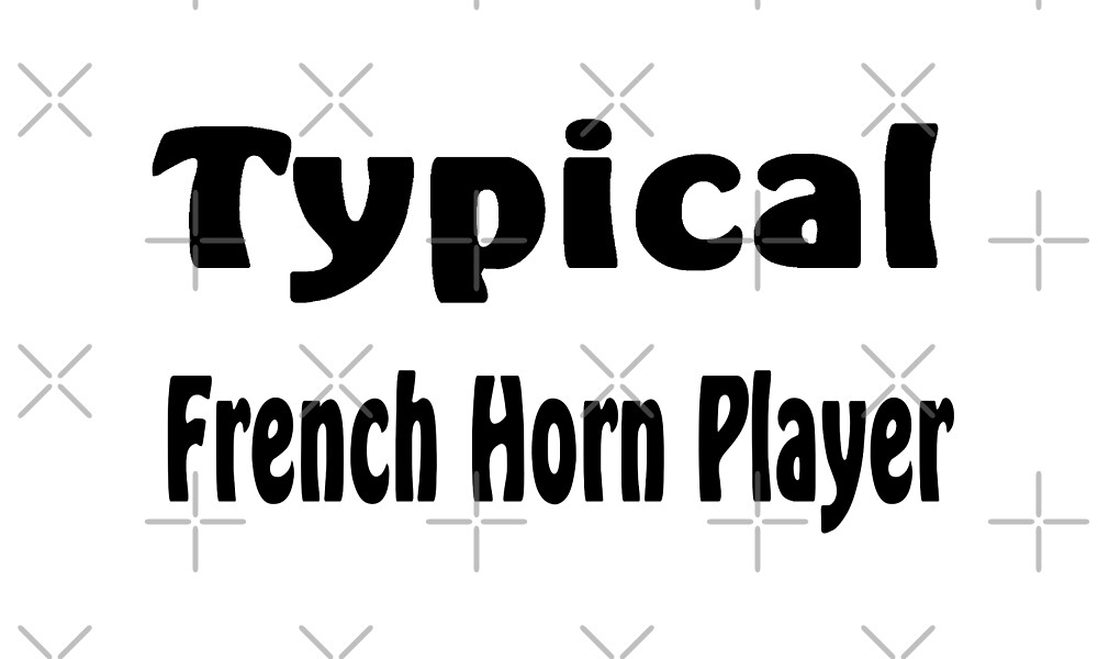 French Horn by greatshirts