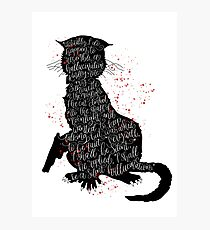 The Master and Margarita, by Mikhail Bulgakov Photographic Print