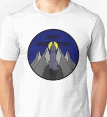 Midnight Wolf Unisex T-Shirt
