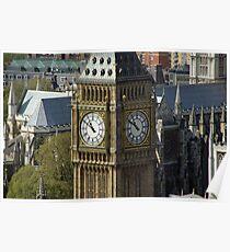 Big Ben - Great Bell - London Poster