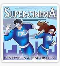 Super Cinema Logo Sticker