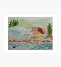 Boiler Bay Art Print