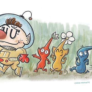 Pikmin by cmaghintay