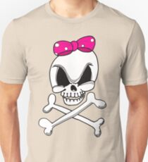 Girls Skull and Crossbones Unisex T-Shirt