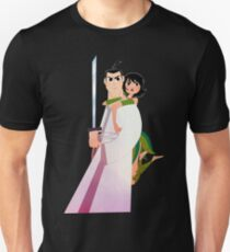 Samurai Jack and Ashi  T-Shirt