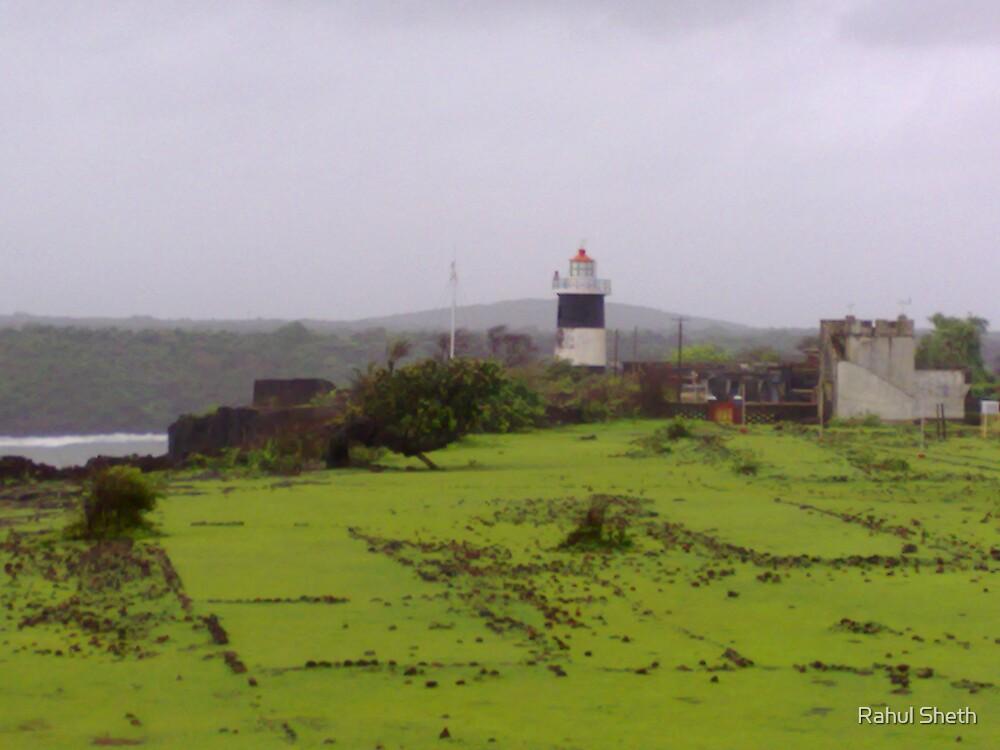 lighthouse at devgad, konkan by Rahul Sheth