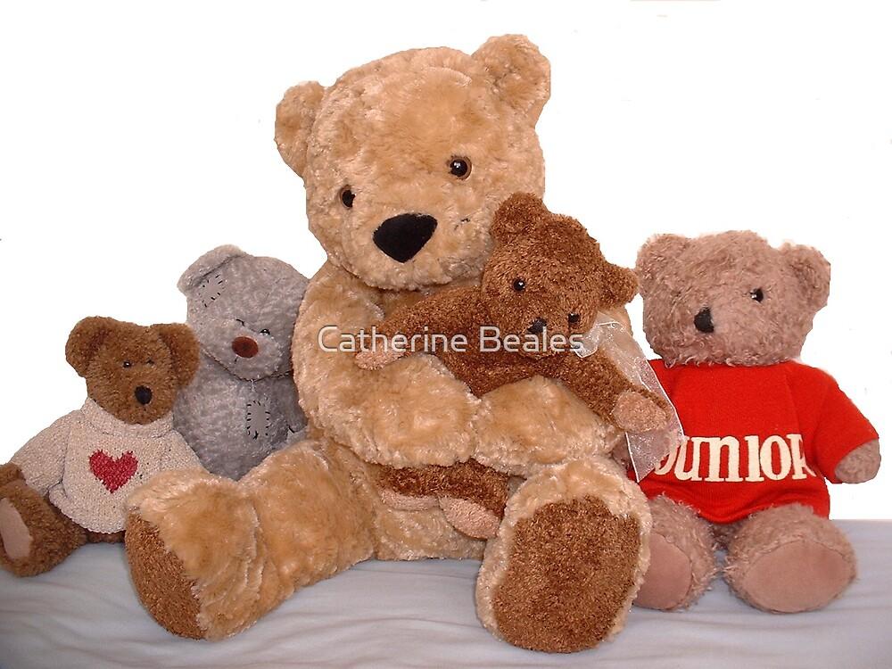 teddy bear, teddy bear by Catherine Beales