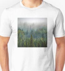Misty Forest Beauty Unisex T-Shirt