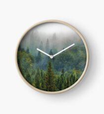 Misty Forest Beauty Clock