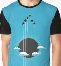 Sky Guitar Graphic T-Shirt