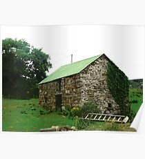 Another Irish Barn, Donegal, Ireland Poster