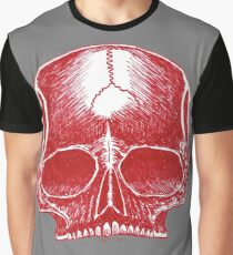 Red Skull - Art By Kev G Graphic T-Shirt
