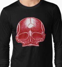 Red Skull - Art By Kev G Long Sleeve T-Shirt