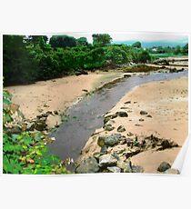 Glenalla River, Rathmullen, Donegal, Ireland Poster