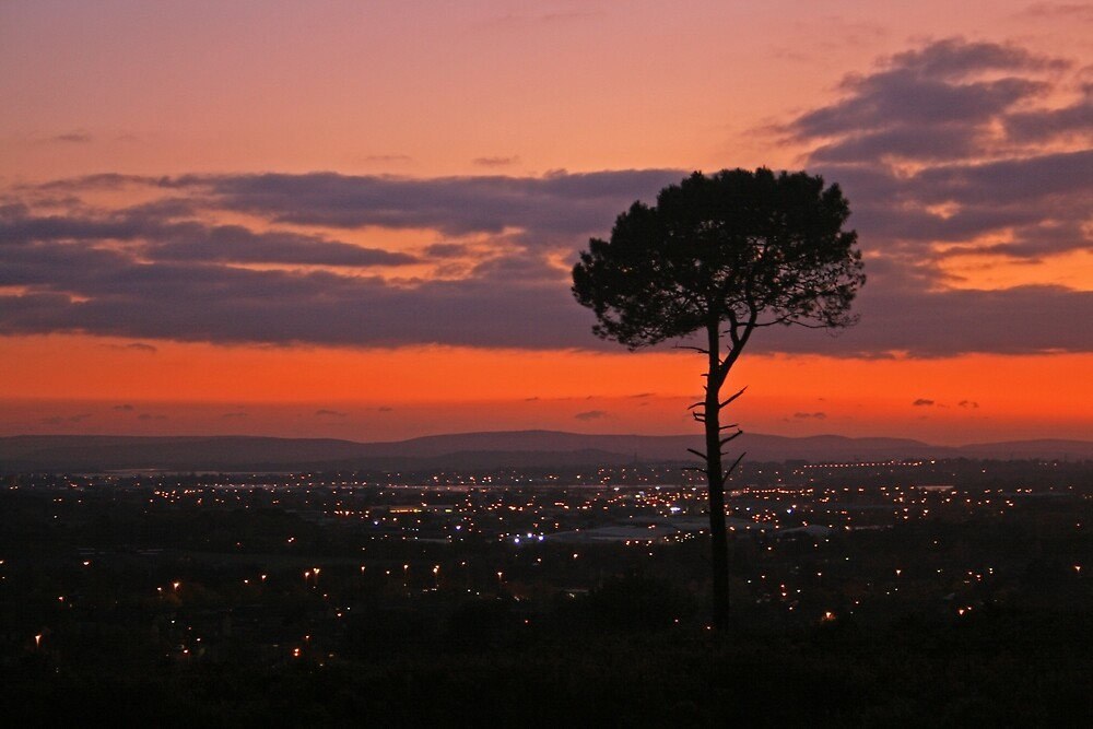 Poole & Purbeck Sunset by RedHillDigital