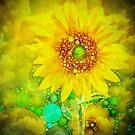 Sunflower Abstract by Dana Roper