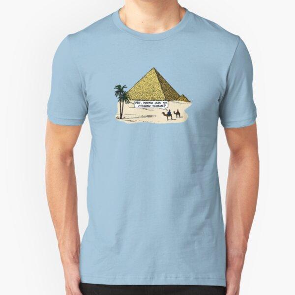 Pyramid Scheme Slim Fit T-Shirt