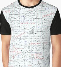 Math Homework Graphic T-Shirt