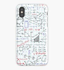 Math Homework iPhone Case