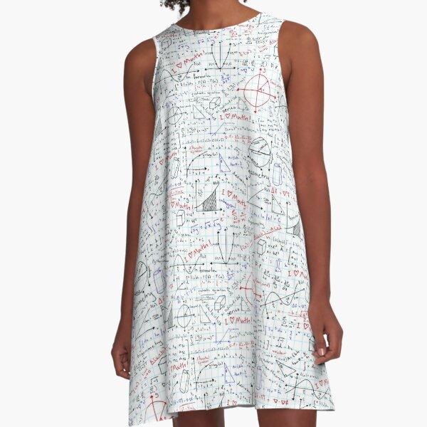 Math Homework A-Line Dress