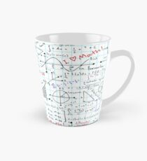 Math Homework Tall Mug