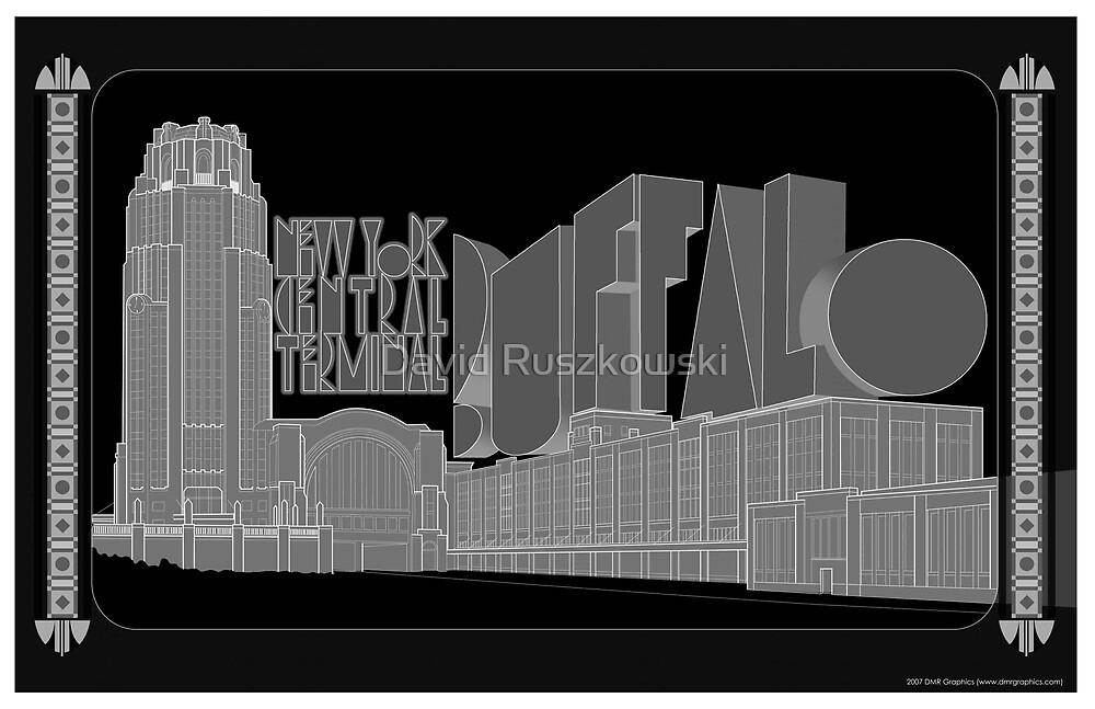 New York Central Terminal by David Ruszkowski