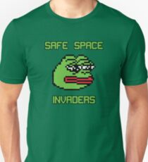 Safe Space Invaders Unisex T-Shirt