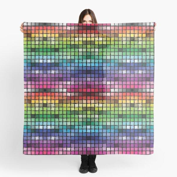 Mosaic (Web Colors) Scarf