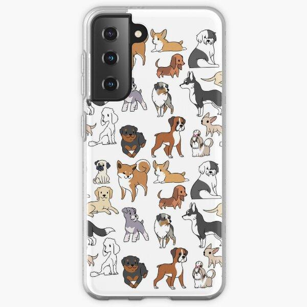 Dogs Samsung Galaxy Soft Case