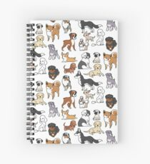 Cuaderno de espiral Perros