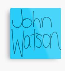 Dr. John H. Watson Metal Print