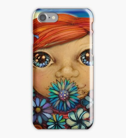 Love is the Flower You've Got to Let Grow iPhone Case/Skin