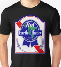 flat earth theory truth Unisex T-Shirt